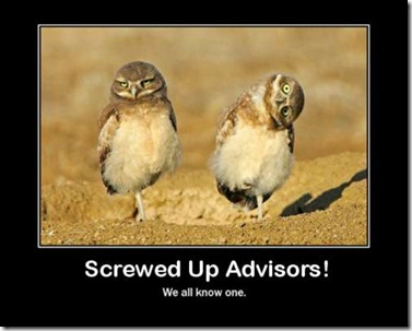 Screwed Up Advisors